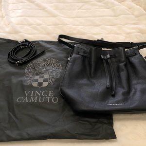 NWOT Leather Vince Camuto Bucket Bag